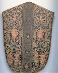 17th Century Chasuble of Cardinal Odoardo Farnese (1573-1626)
