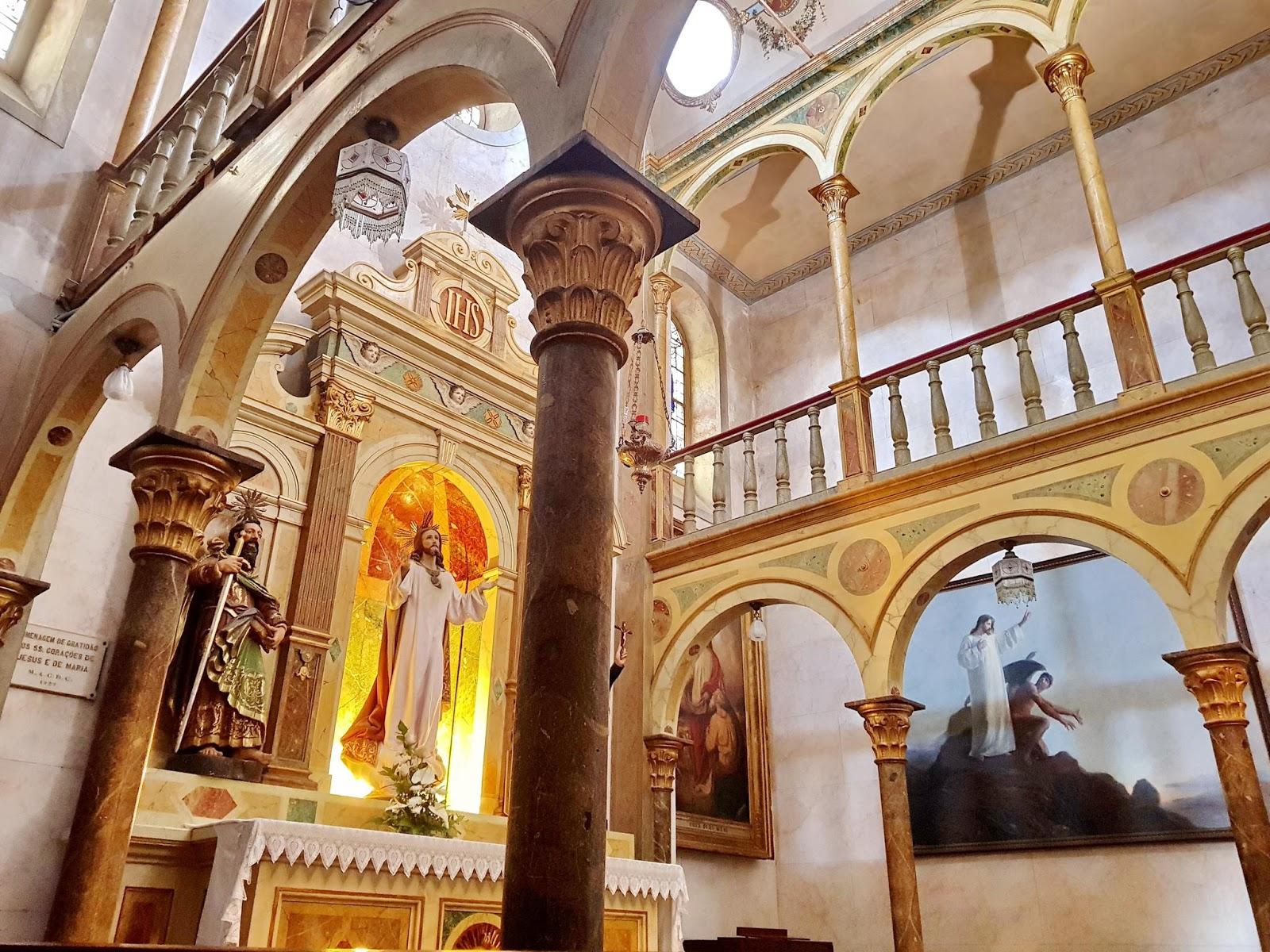 recanto na igreja de São Pedro