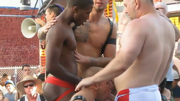 Naked gay sex in public-7913
