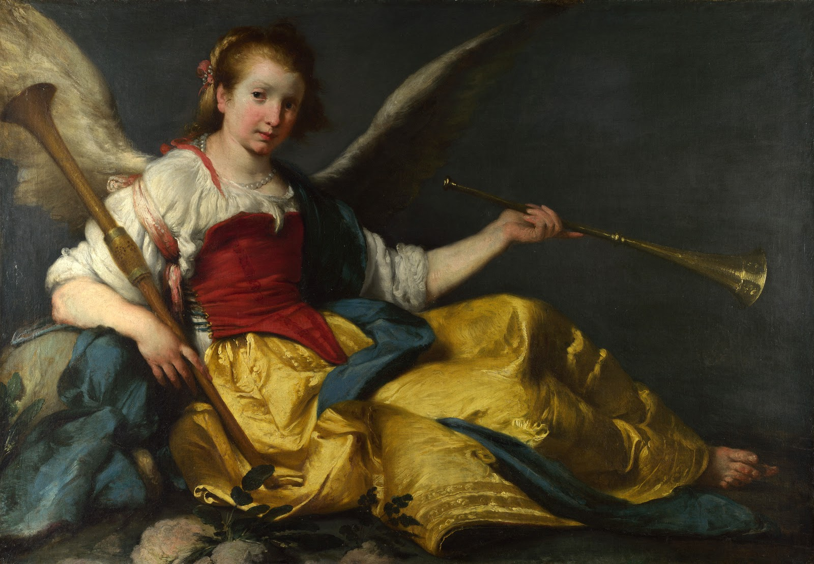 baroque trumpet painting - photo #21