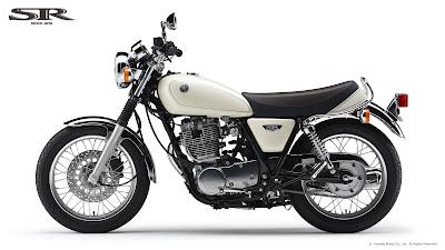 2016 Yamaha SR400 side image