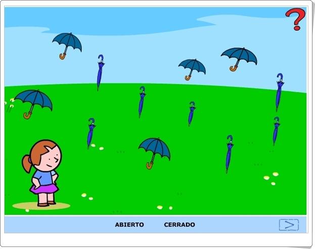 ABIERTO Y CERRADO (Juego de Conceptos Básicos de Infantil)