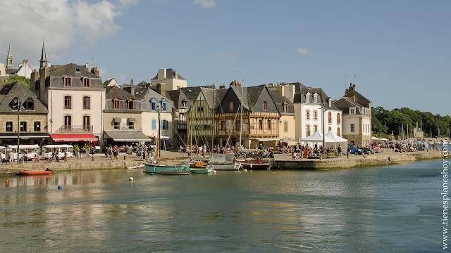 Diario de viaje Bretaña y Normandia Auray