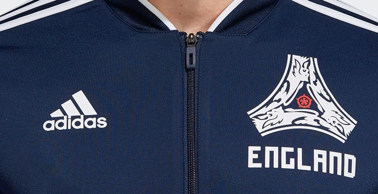 new product e489f 4b787 Adidas England 2018 World Cup Shirt and Tracksuit Collection Leaked