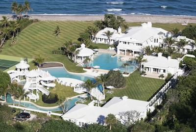 After 4 years on the market, Celine Dion finally sells her Jupiter Island estate on the ocean for $28 million