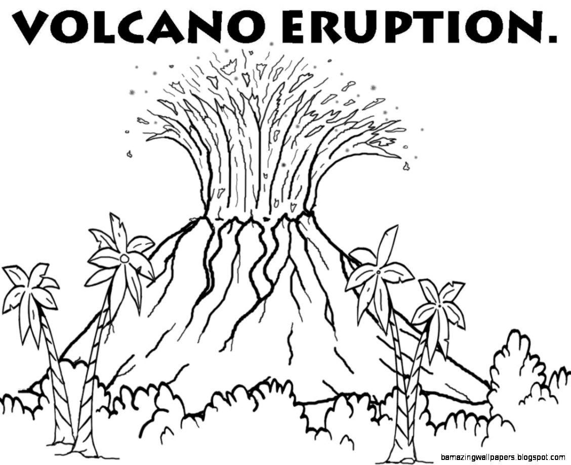 Volcano clipart black and white amazing wallpapers
