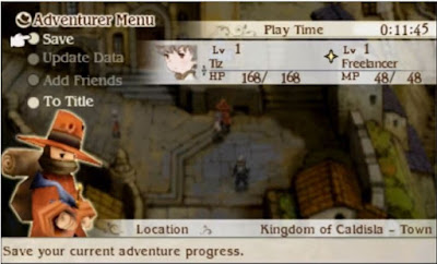 Bravely Default for the sequel Screenshot 2