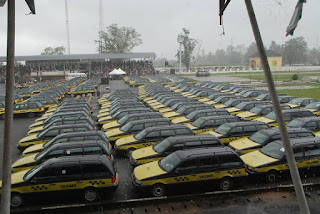 Okorocha bans Keke Marwa in Owerri, replaces them with 2000 Wagons [PHOTOS]