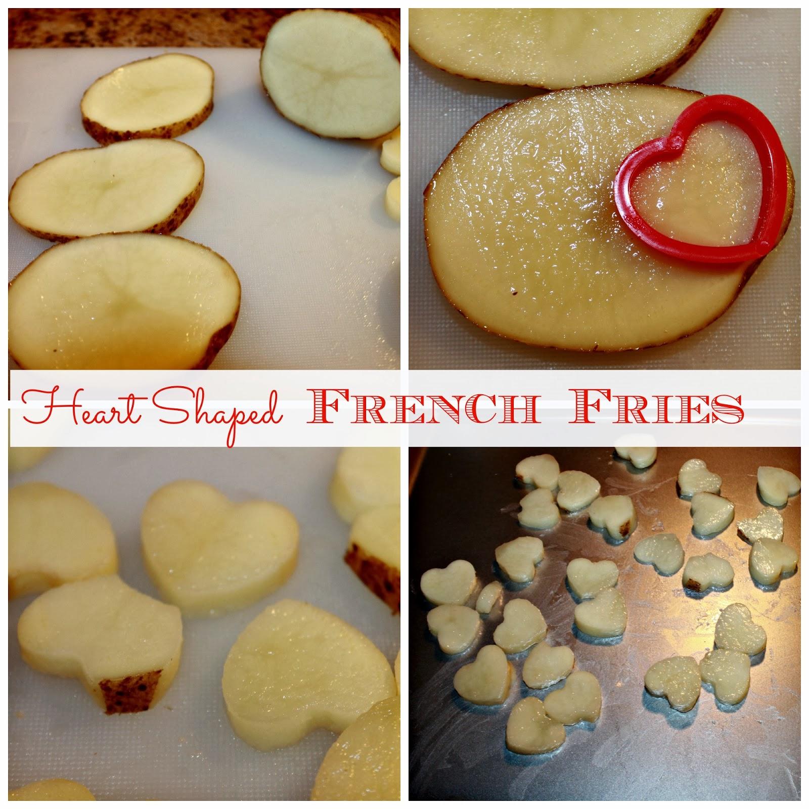 #ad Heart Shaped French Fry Recipe