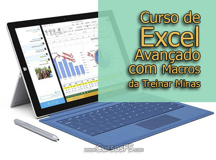 Curso de Excel Avançado com Macros da Treinar Minas