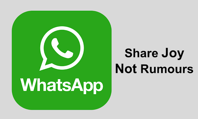 stop fake news on WhatsApp