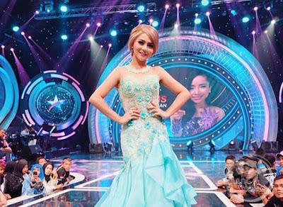 Jenita Janet di Studio 5 Indosiar.