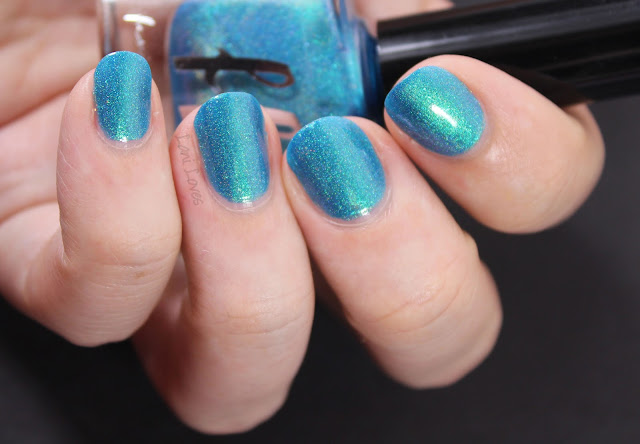 Femme Fatale Lake of Shining Waters Nail Polish Swatches & Review