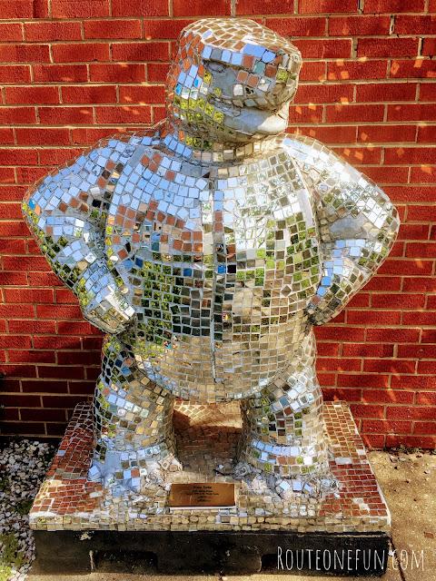 Disco Turtle Sculpture University of Maryland College Park