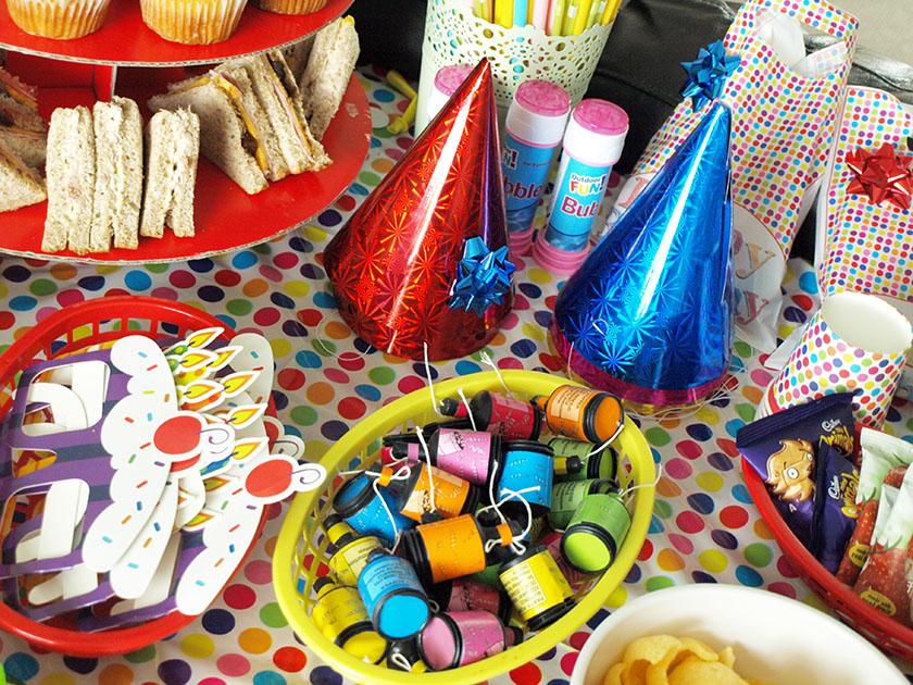 Gluten Free Birthday Party Food