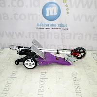 Skuter Dual Pedal PMB QY11AP Elite - Purple