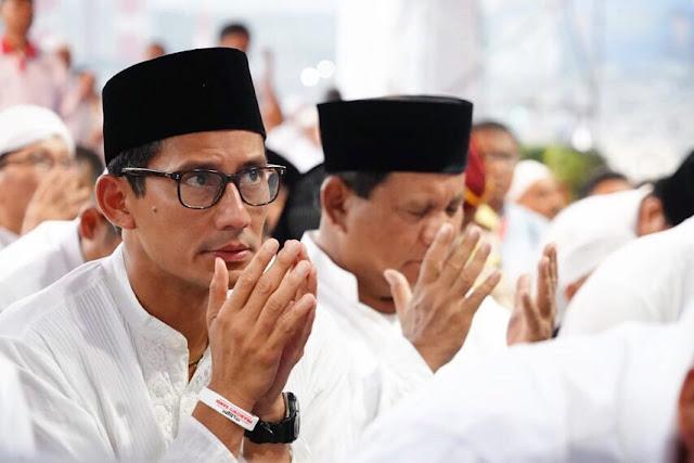 Sandiaga: Prabowo-Sandi Menang, Indonesia Jadi Macan Asia