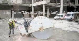 Khoan cắt bê tông tại huyện Xuân Lộc