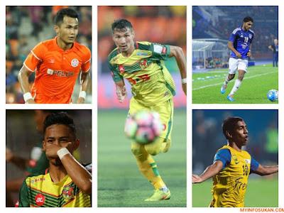 10 Pemain Tempatan Mempunyai Larian Terpantas di Liga Malaysia