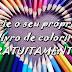 Crie o seu próprio livro de colorir gratuitamente!