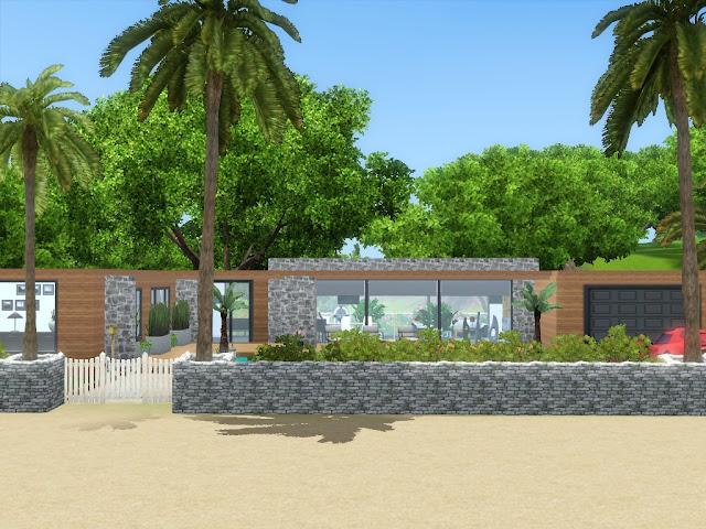 maison bord de mer sims 3