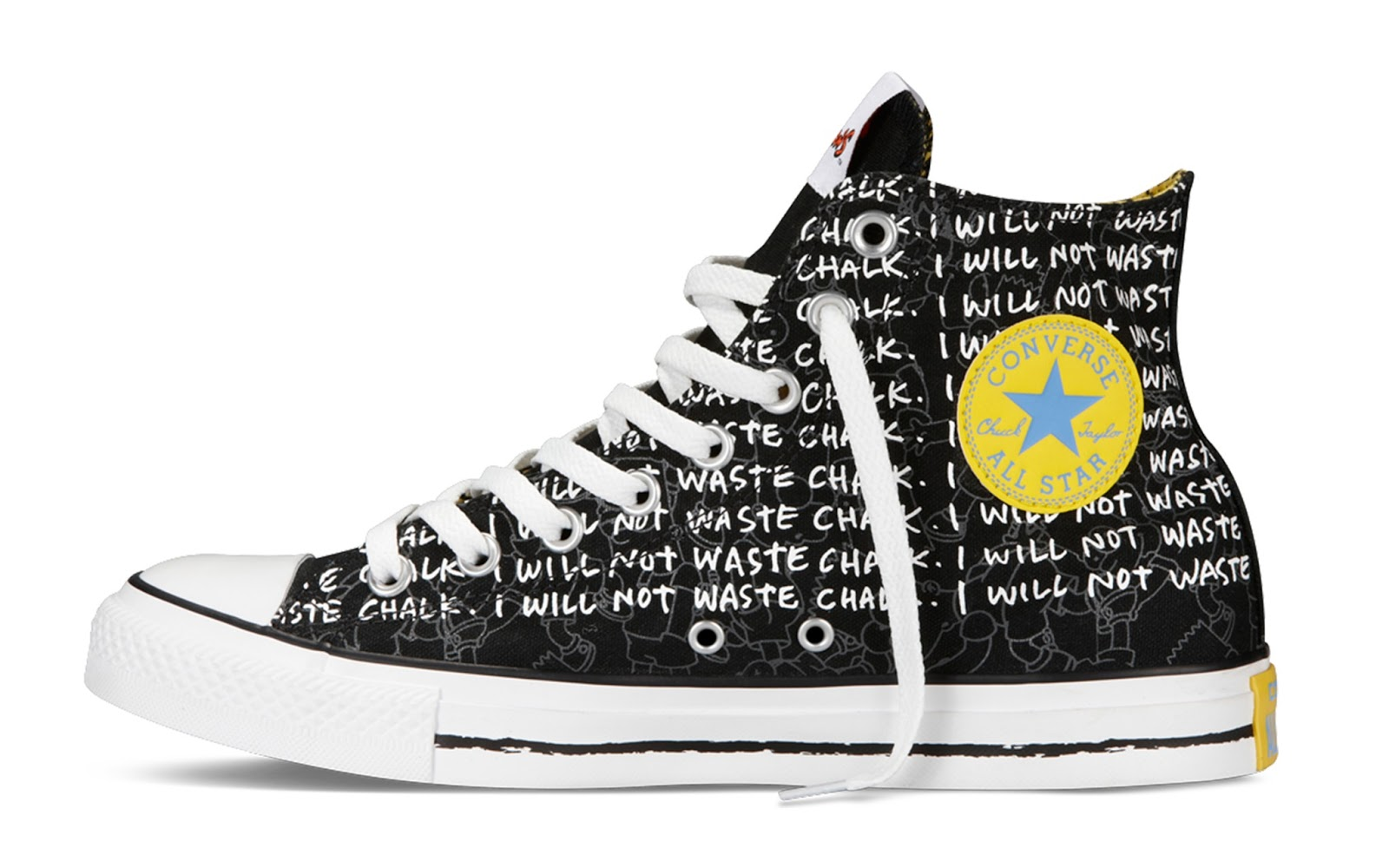 all star converse the simpsons