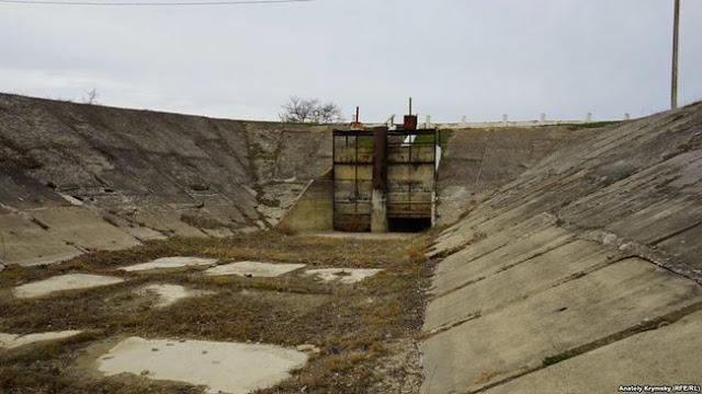Шлюзы Белогорского водохранилища