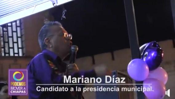 El cambio se logra con propuestas serias: Mariano Díaz Ochoa