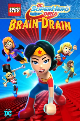 Lego DC Super Hero Girls: Brain Drain [2017] [DVDR] [NTSC] [Latino]