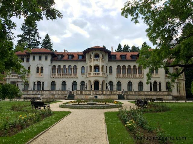 El Palacio de Vrana, Sofía, Bulgaria