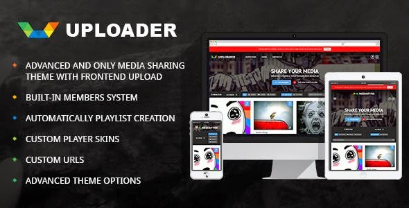 Best Responsive Media Sharing WordPress Theme