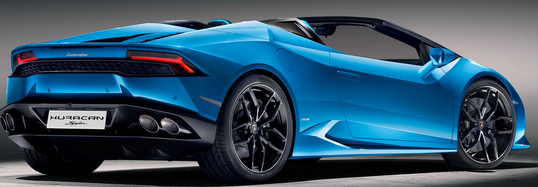Huracan Gallardo LP550-2 color blue