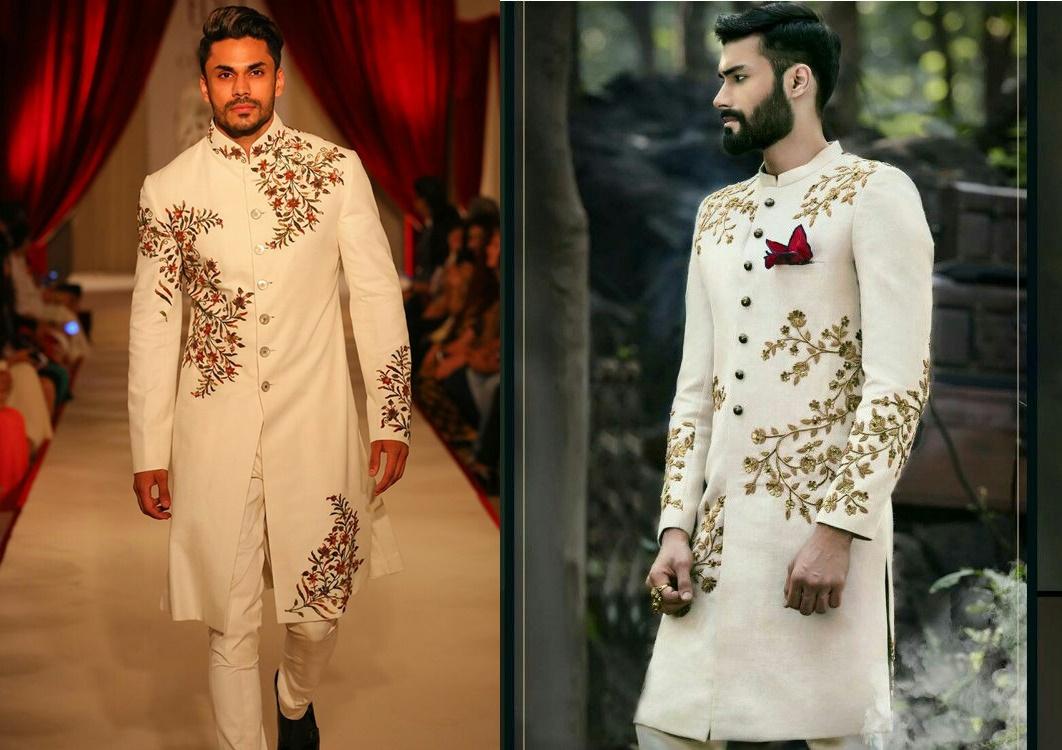 1756ebe08e Latest Wedding Designer Sherwanis for groom || Styling Ideas | Bling ...