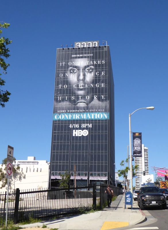 Giant Confirmation movie billboard