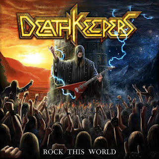 "Death Keepers - ""Rock & Roll City"" (audio) from the album ""Rock This World"""