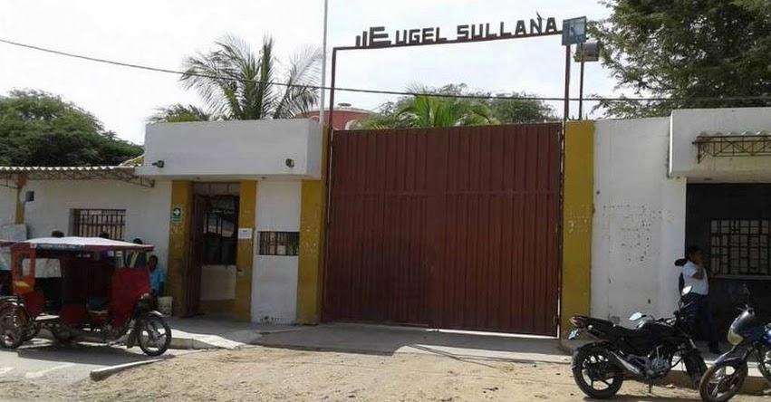 Solicitan auditoría en la UGEL Sullana al Gobierno Regional de Piura