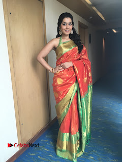Actress Raashi Khanna Latest Pictures in Silk Saree  0006.JPG
