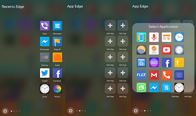 cydia tweak that brings a similar experience to the Samsung S7 side interface feature to iOS 9 devices