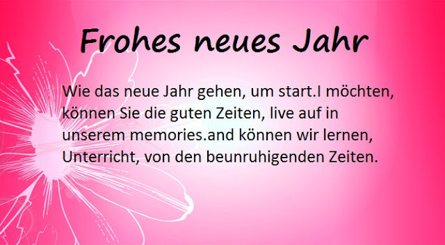 Happy New Year Images with Quotes German 2017