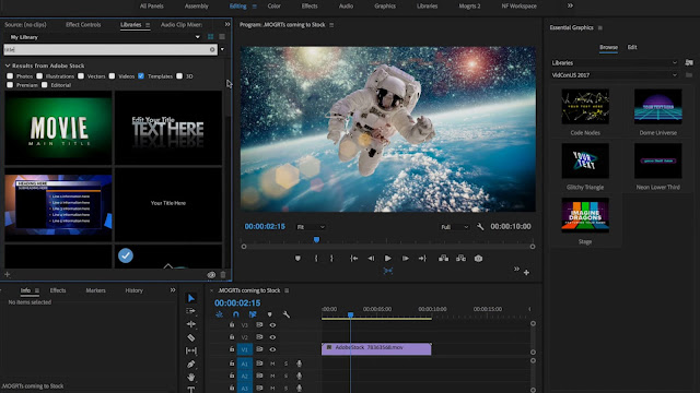 After Effects CC 2018 | Theinfinitetechs.com