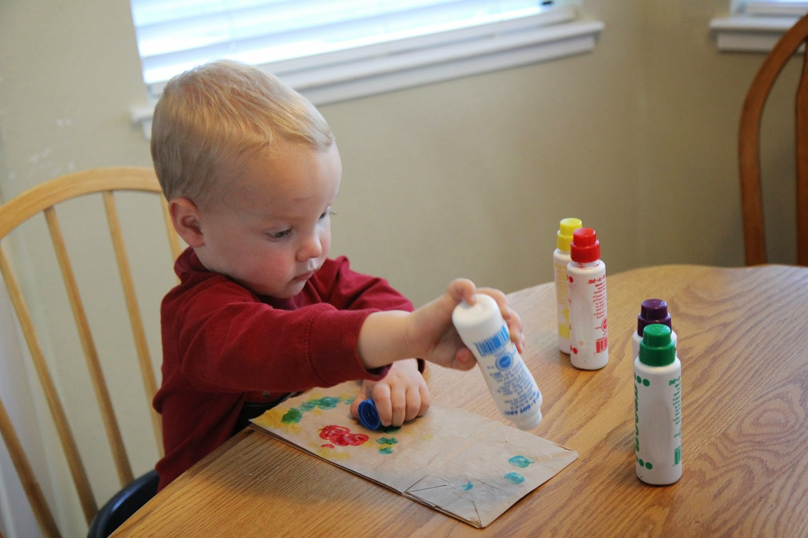 Toddler Approved Colorful Easter Bunny Puppet Craft