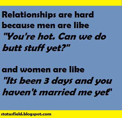 Quotes And Status Funny Relationship Facebook Status Updates