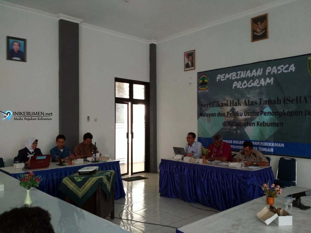 900 Nelayan Kebumen Telah Terima Sertifikat Tanah SeHAT
