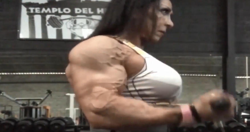 Clip building muscle mass, How to Gain Muscle in Women bodybuilder