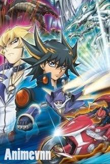 Yu-Gi-Oh! 5D's: Evolving Duel! Stardust vs. Red Daemon's -  2012 Poster