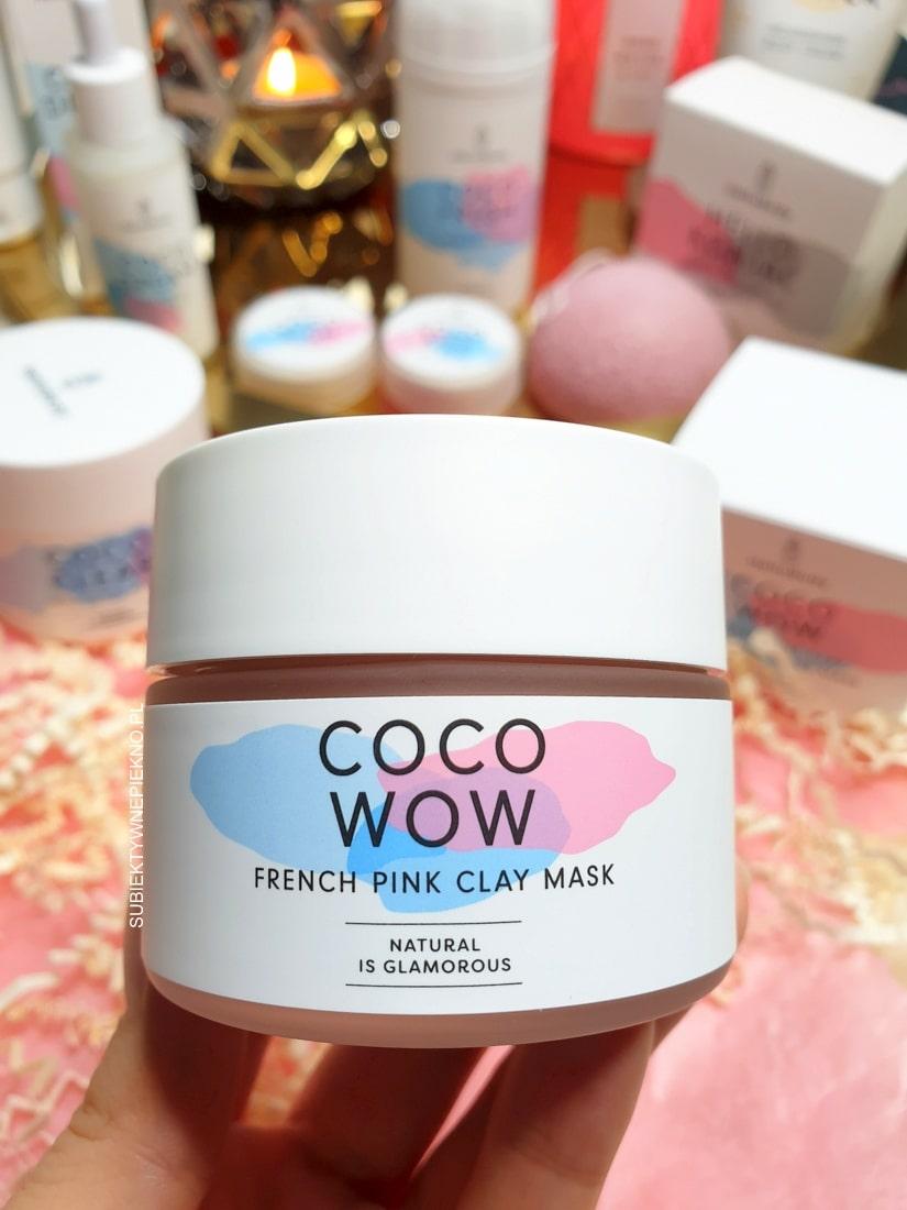 Coco Wow Hello Body - maseczka z różową glinką i ekstraktem z magnolii