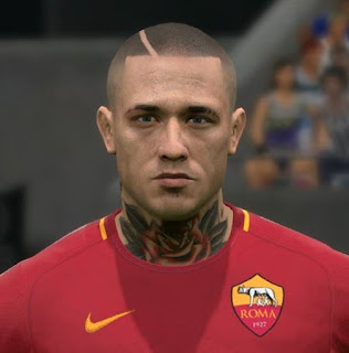 PES 2017 Faces Radja Nainggolan by FaceEditor Jefferson_SF