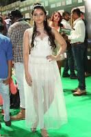 Meghana Gaur in a Deep Neck Sleeveless White Gown at IIFA Utsavam Awards 025.JPG