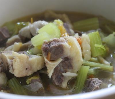 Resepi Sup Ekor Ala Thai Yang Simple