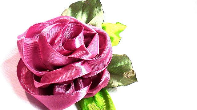 kanzashi rose